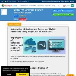 SuiteCRM Backup