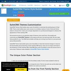 Free SuiteCRM Themes