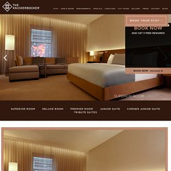 New York City Suites - NYC Hotel Rooms - The Knickerbocker