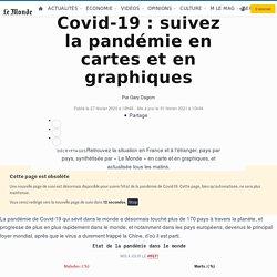 Coronavirus: suivez la propagation de la pandémie en France et dans le monde