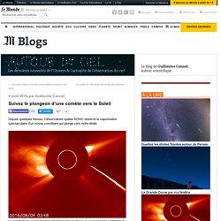 Suivez le plongeon d'une comète vers le Soleil