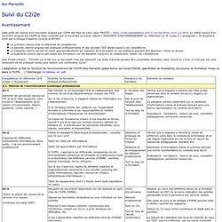 Suivi et évaluation - C2i2e