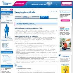 Suivi médical et hygiène de vie en cas d'HTA