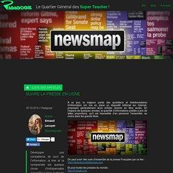 Suivre la presse en ligne - Padagogie