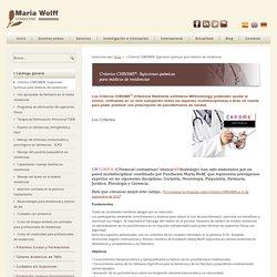 Criterios CHROME®: Sujeciones químicas para médicos de residencias
