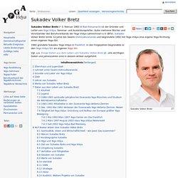 Sukadev Volker Bretz – Yogawiki