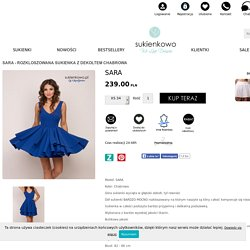 Sukienkowo sklep z sukienkami Sara
