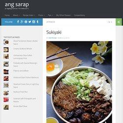 Sukiyaki - Ang Sarap