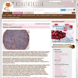 Mehevä suklaakakkupohja