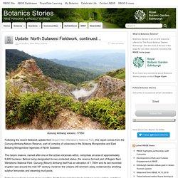 Update: North Sulawesi Fieldwork, continued… – Botanics Stories