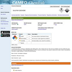 CAMEO Chemicals