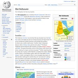 Ifat Sultanate