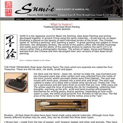 SUMI-E SOCIETY WhatIsSumie