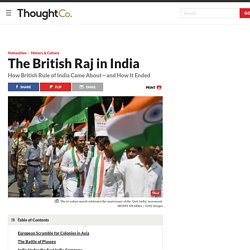 A Summary of British Rule in India