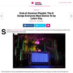 Summer 2014 DJ Playlist: Glamour.com
