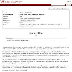 Summer Days - sui - Kuroko no Basuke