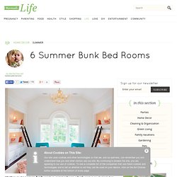 6 Summer Bunk Bed Rooms | Momtastic