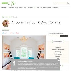 6 Summer Bunk Bed Rooms | Momtastic - StumbleUpon