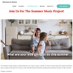 Best Summer Music Camps in NC
