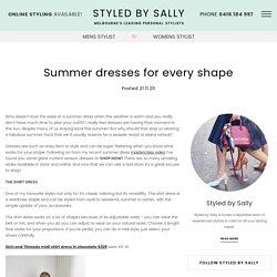 Summer dresses for every shape