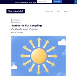 Summer Is For Sampling - Character Lab