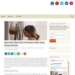 Beat the Heat this Summer with Easy Home Hacks - Favista Real Estate Blog