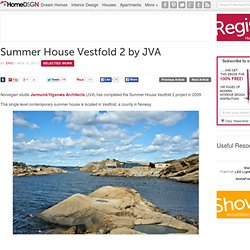 Summer House Vestfold 2 by JVA
