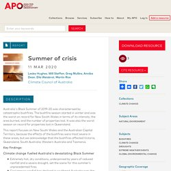 Summer of crisis