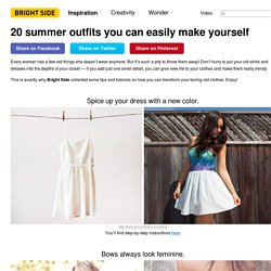 20summer outfits you can easily make yourself