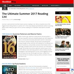 Summer Reading 2017: The Ultimate Book List