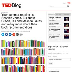 Your mega summer reading list: 70+ picks from the TED community
