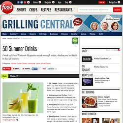 50 Summer Drinks : Recipes and Cooking
