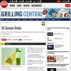 50 Summer Drinks : Recipes and Cooking : Food Network