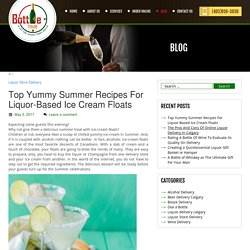 Top Yummy Summer Recipes For Liquor-Based Ice Cream Floats