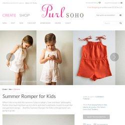 Summer Romper for Kids