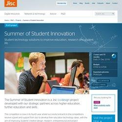 Summer of Student Innovation