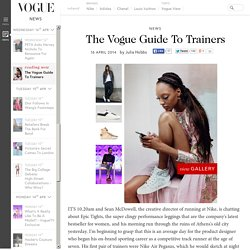 Summer Trainers Trend Vogue Editors' Guide - Nike, Adidas & Chanel