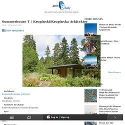 Summerhouse T / Krupinski/Krupinska Arkitekter