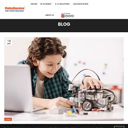 Coding - The Coolest Summertime Activity for Your Children in 2020 - RoboGenius Learning Solutions Limited