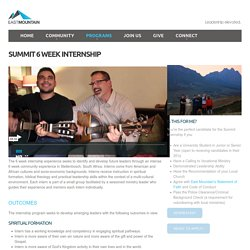 Summit 6 Week Internship - East Mountain