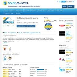 Solar Company Reviews in 11769, Suffolk, Oakdale, NY