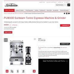 Sunbeam Torino Espresso Machine & Grinder