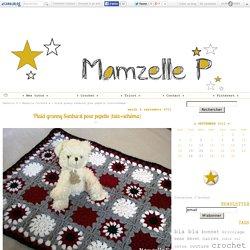 Plaid granny Sunburst pour pepette (tuto+schéma) - Mamzelle P
