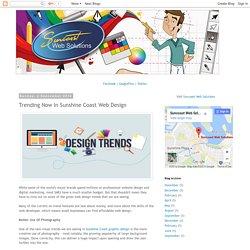 Trending Now In Sunshine Coast Web Design