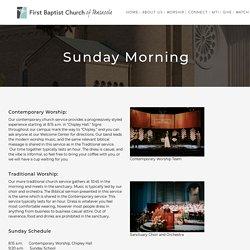 Sunday Morning Worship - FBCP - Baptist Pensacola FL