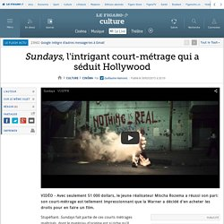 Sundays, l'intrigant court-métrage qui a séduit Hollywood