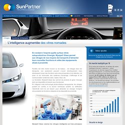 Sunpartner Technologies » Vitrages