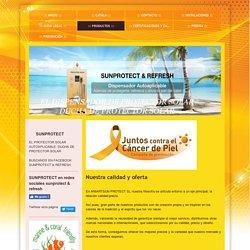 SUNPROTECT & REFRESH, DUCHA DE PROTECTOR SOLAR, DISPENSADOR DE PROTECTOR SOLAR - Productos