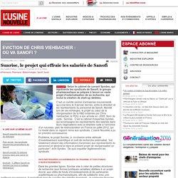 Sunrise, le projet qui effraie les salariés de Sanofi - Pharmacie