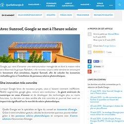 Avec Sunroof, Google se met à l'heure solaire